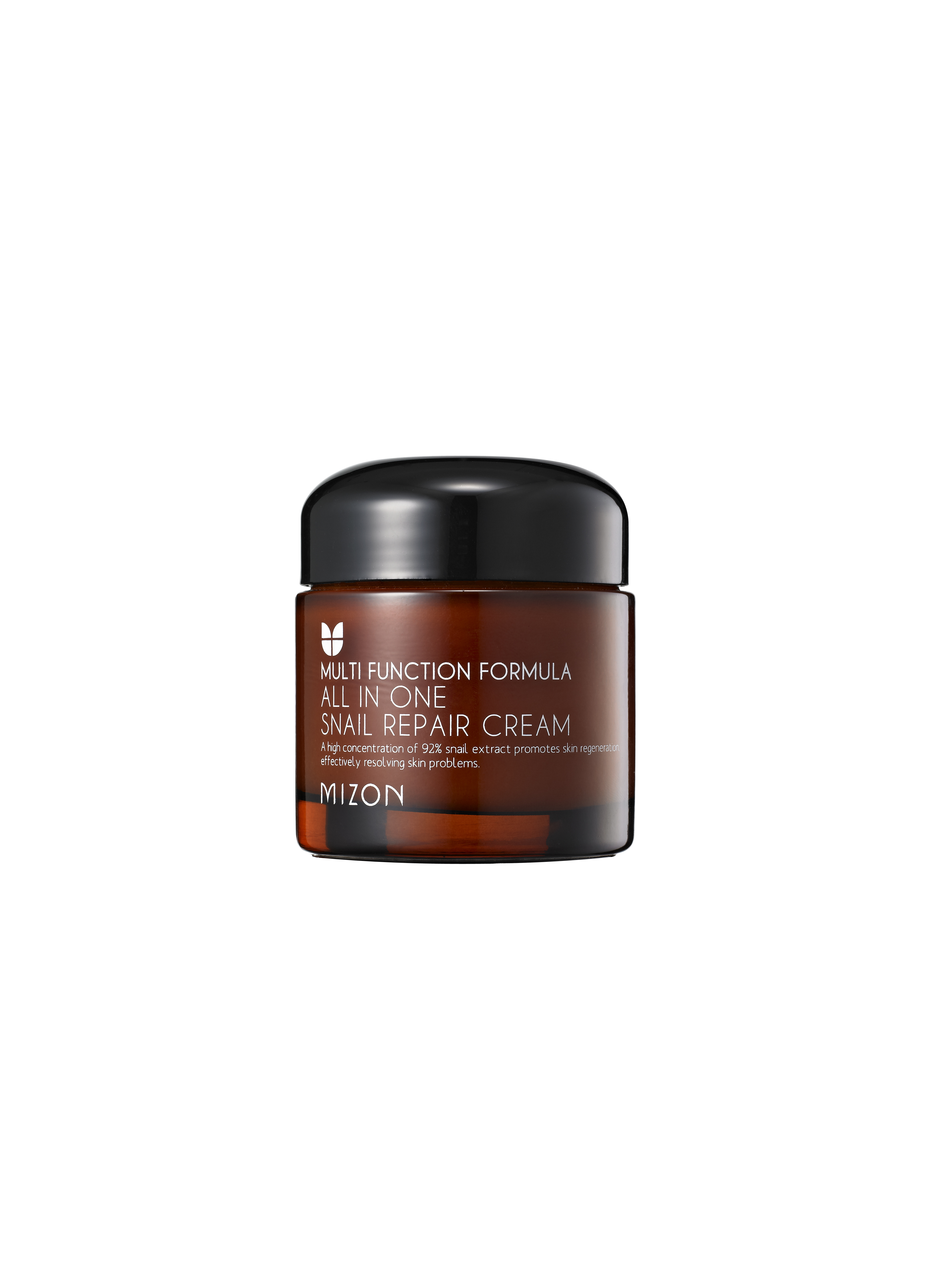 All In One Snail Repair Cream Mizon Blacksnail 75ml It Contains 92 Of Mucous Ultrifiltrate Ingredient And Comes A Pack