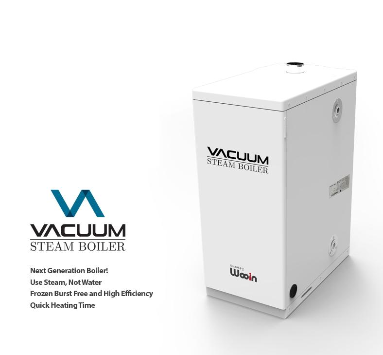 Vacuum Steam Boiler | Wooin Inc.