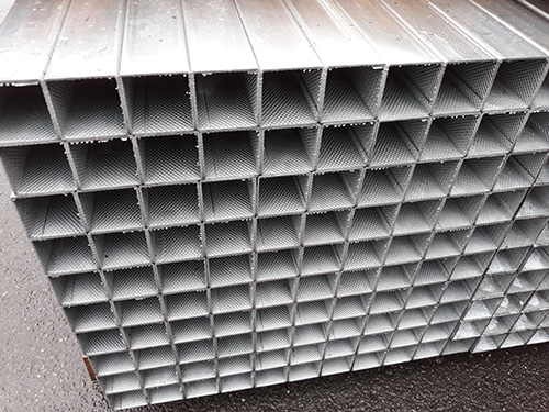 Square type steel pipes for standard structures | husco co ltd